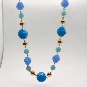 Vintage Trifari Bakelite Necklace, Pastel Easter
